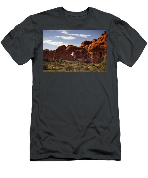 Arches National Park Men's T-Shirt (Athletic Fit)