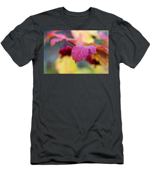Arrowwood Leaf - Featured 3 Men's T-Shirt (Athletic Fit)