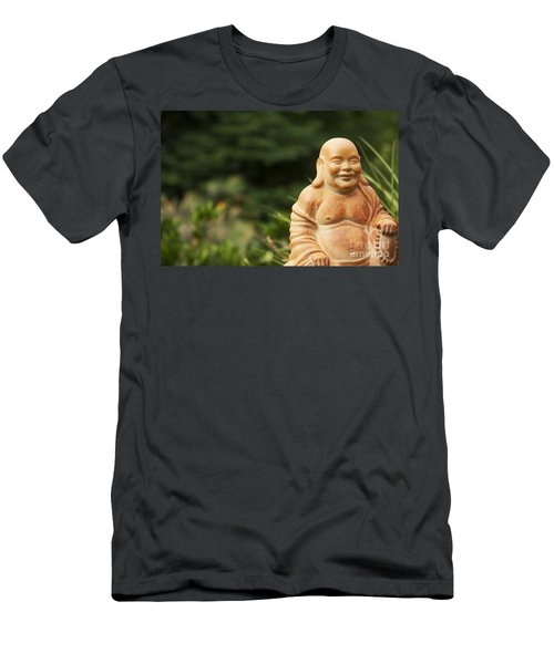 Backyard Buddha Men's T-Shirt (Athletic Fit)