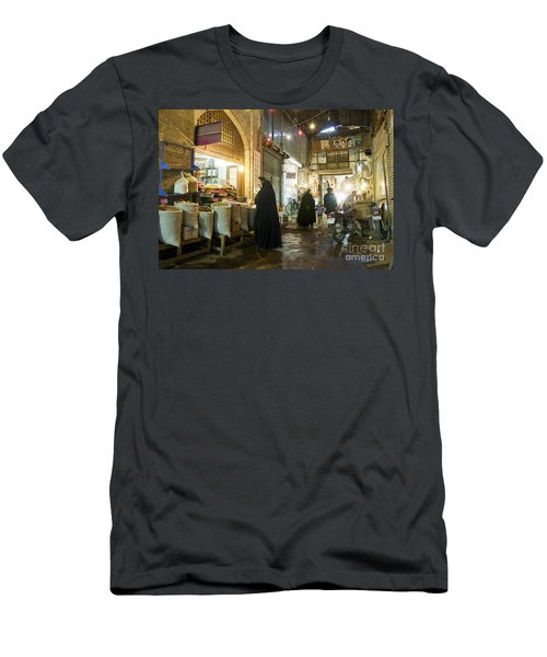 Bazaar Market In Isfahan Iran Men's T-Shirt (Athletic Fit)