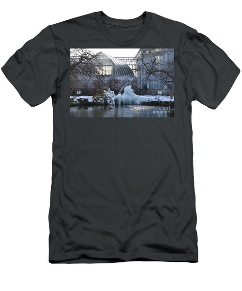 Belle Isle Conservatory Pond 2 Men's T-Shirt (Athletic Fit)