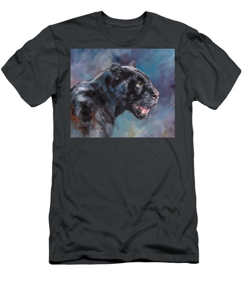Black Panther Men's T-Shirt (Athletic Fit)
