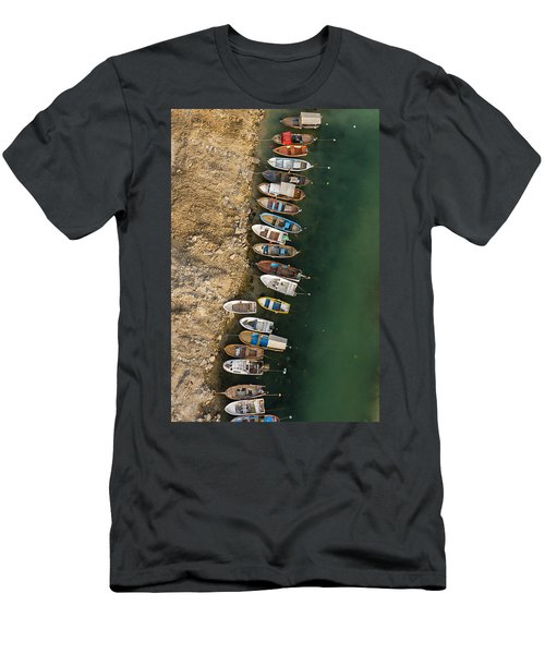 Boats Men's T-Shirt (Athletic Fit)