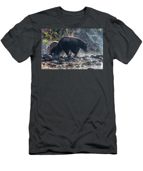 Bouldering Men's T-Shirt (Athletic Fit)