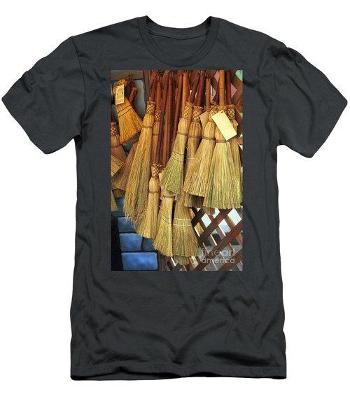 Brooms For Sale Men's T-Shirt (Athletic Fit)