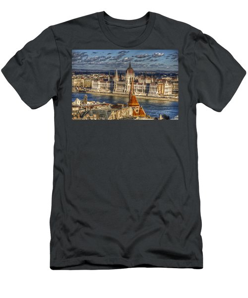 Buda Parliament  Men's T-Shirt (Athletic Fit)