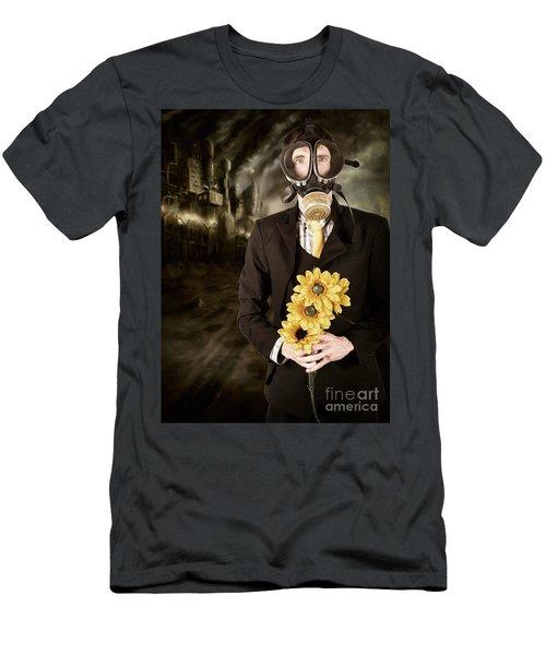 Carbon Tax On Climate Change Men's T-Shirt (Athletic Fit)