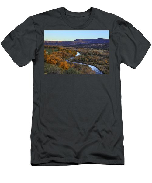 Chama River At Sunset Men's T-Shirt (Athletic Fit)