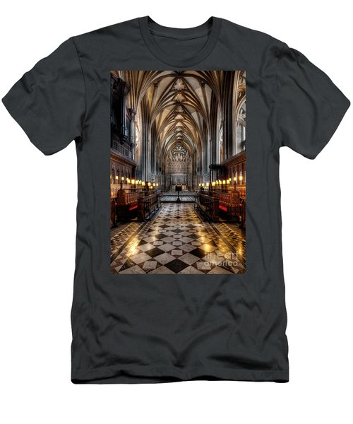 Church Interior Men's T-Shirt (Athletic Fit)