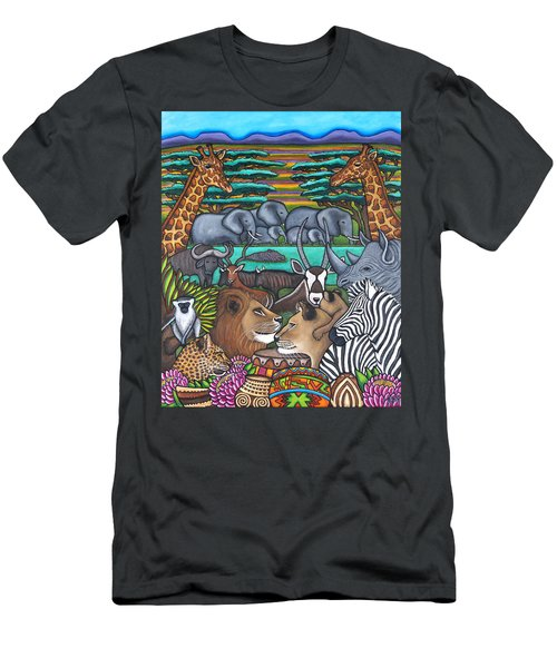 Colours Of Africa Men's T-Shirt (Athletic Fit)