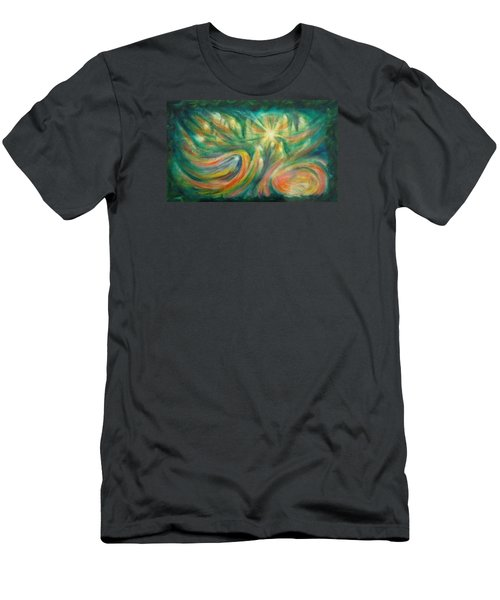 Conception Men's T-Shirt (Slim Fit) by Becky Chappell