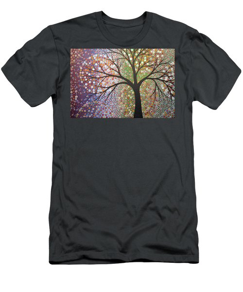 Constellations Men's T-Shirt (Slim Fit) by Amy Giacomelli