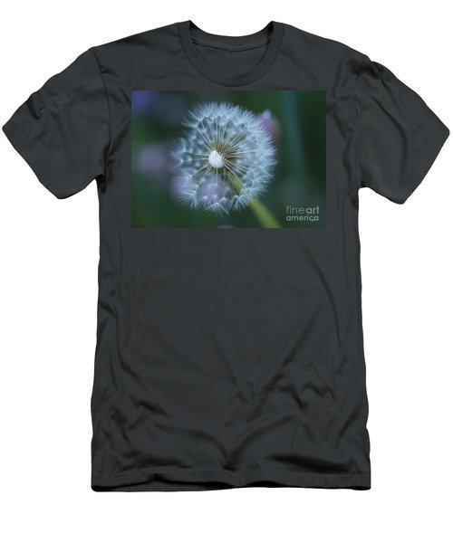 Dandelion Men's T-Shirt (Slim Fit) by Alana Ranney
