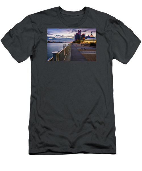 Detroit River Walk Men's T-Shirt (Athletic Fit)