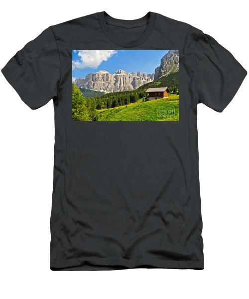 Dolomiti - High Fassa Valley Men's T-Shirt (Athletic Fit)