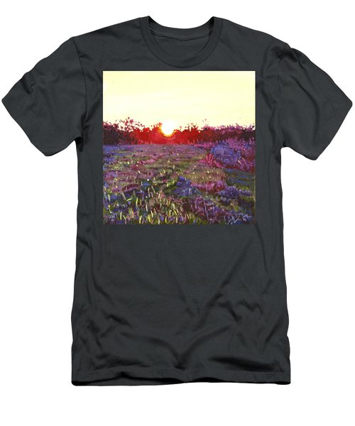 Farley Sunset Men's T-Shirt (Athletic Fit)