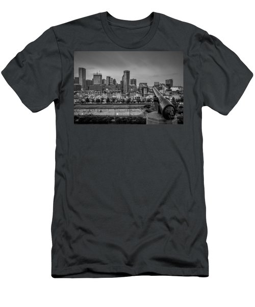 Federal Hill In Baltimore Maryland Men's T-Shirt (Slim Fit)