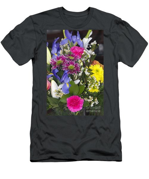 Floral Bouquet 2 Men's T-Shirt (Athletic Fit)
