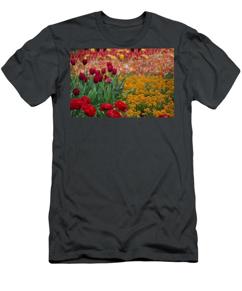 Flowers Everywhere Men's T-Shirt (Athletic Fit)