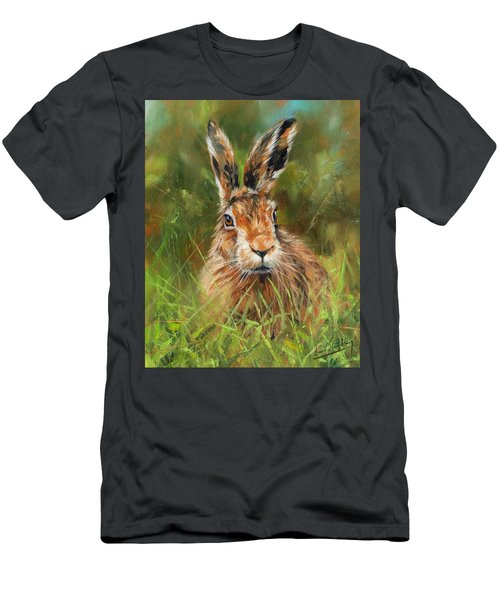 hARE Men's T-Shirt (Athletic Fit)
