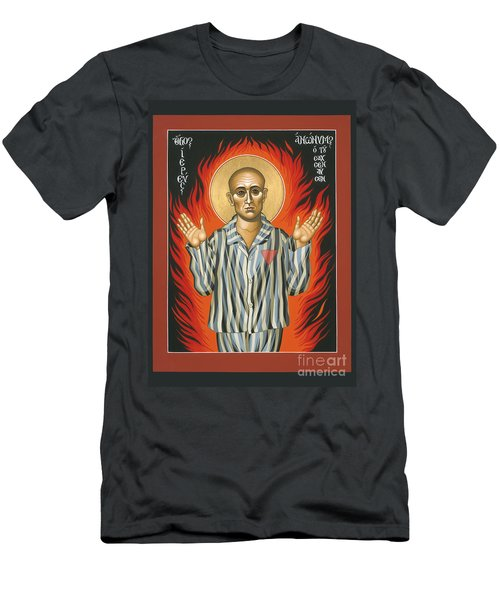 Holy Priest Anonymous One Of Sachsenhausen 013 Men's T-Shirt (Athletic Fit)