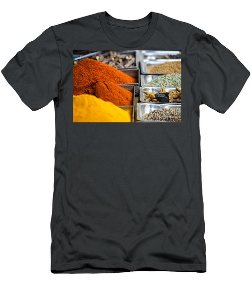 Indian Colored Spices Men's T-Shirt (Athletic Fit)