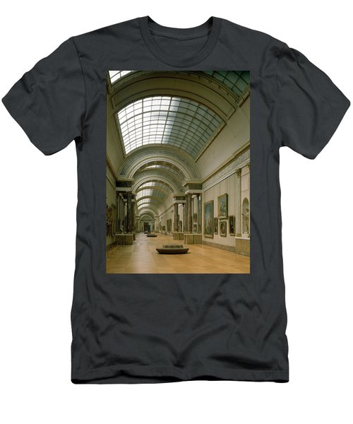 Interior View Of The Grande Galerie, 16th-19th Century Photo Men's T-Shirt (Athletic Fit)