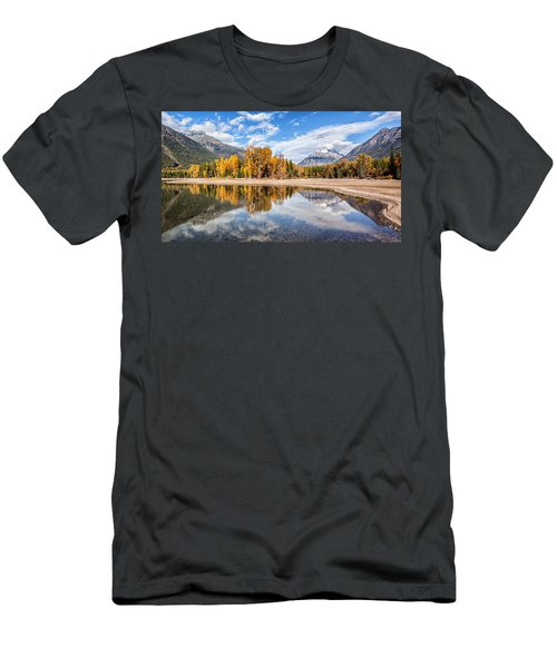 Into The Wild Men's T-Shirt (Slim Fit) by Aaron Aldrich
