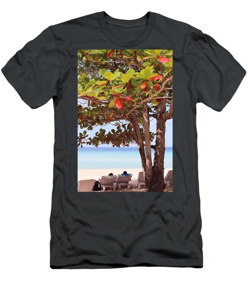 Jamaican Day Men's T-Shirt (Athletic Fit)