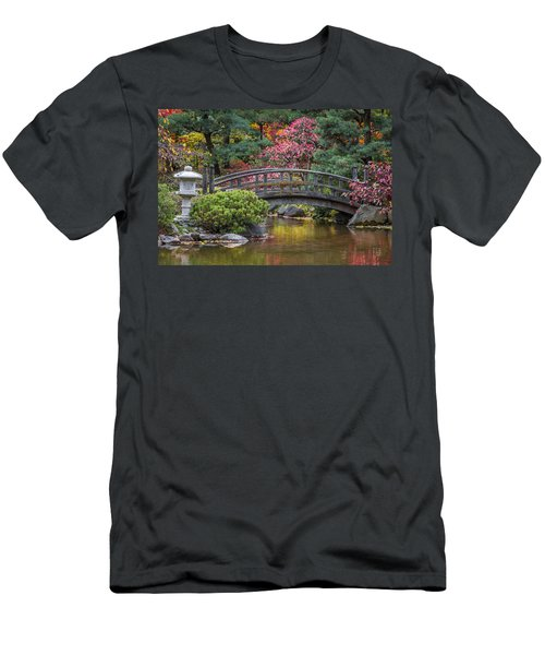Japanese Bridge Men's T-Shirt (Athletic Fit)