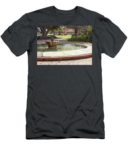 La Purisima Fountain Men's T-Shirt (Athletic Fit)