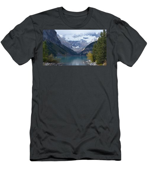 Lake Louise In Fall Men's T-Shirt (Athletic Fit)