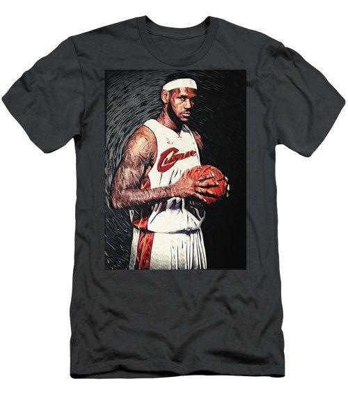 Lebron James Men's T-Shirt (Athletic Fit)