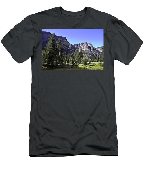 1 Lone Rafter Men's T-Shirt (Slim Fit) by Brian Williamson