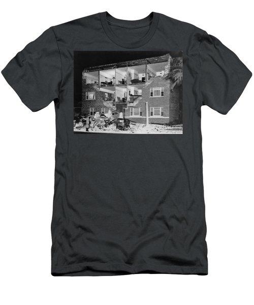Long Beach Earthquake Men's T-Shirt (Athletic Fit)