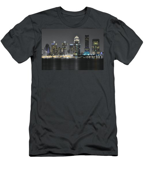 Night Lights Of Louisville Men's T-Shirt (Athletic Fit)