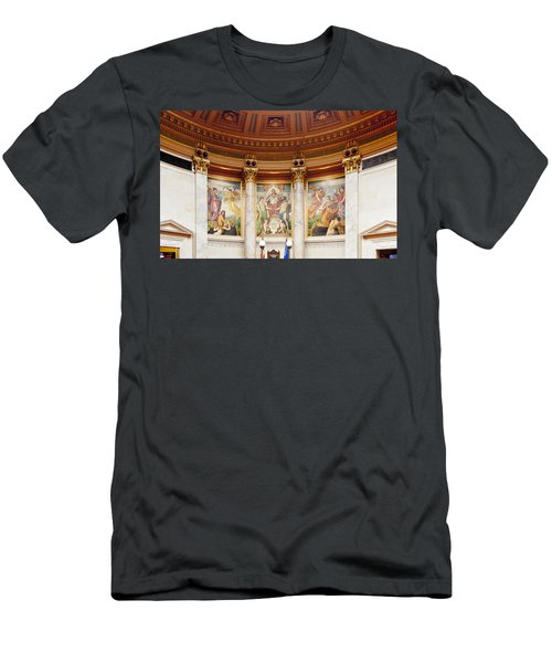 Murals In The Capitol - Madison Men's T-Shirt (Athletic Fit)