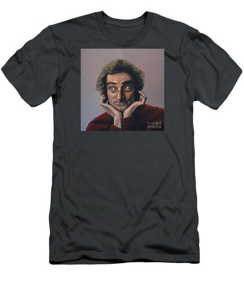 Marty Feldman Men's T-Shirt (Slim Fit) by Paul Meijering