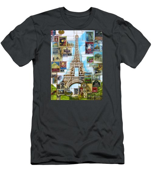 Memories Of Paris Men's T-Shirt (Athletic Fit)