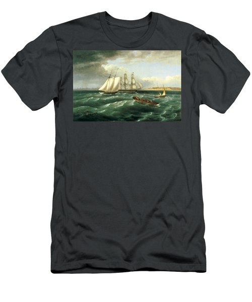Mouth Of The Delaware Men's T-Shirt (Athletic Fit)