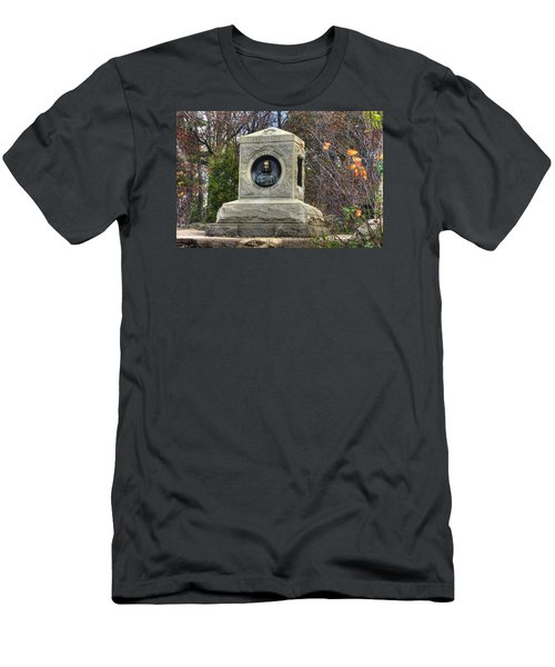 New York At Gettysburg - 140th Ny Volunteer Infantry Little Round Top Colonel Patrick O' Rorke Men's T-Shirt (Athletic Fit)