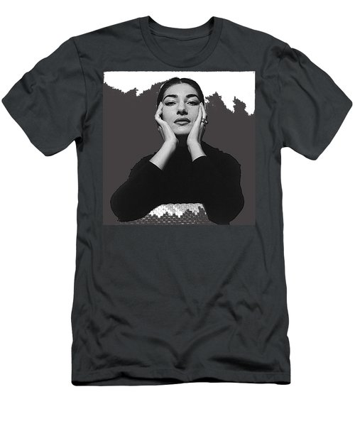 Opera Singer Maria Callas  Cecil Beaton Photo No Date-2010 Men's T-Shirt (Slim Fit) by David Lee Guss