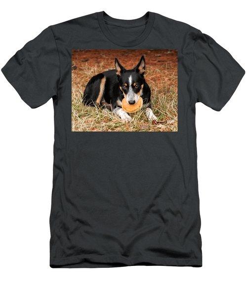 Pancake Dog Men's T-Shirt (Athletic Fit)