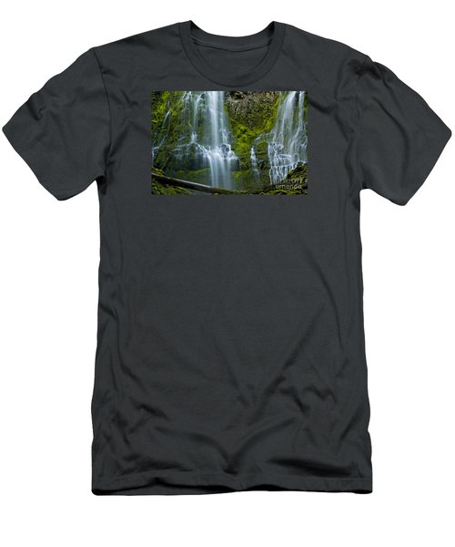 Proxy Falls Men's T-Shirt (Athletic Fit)