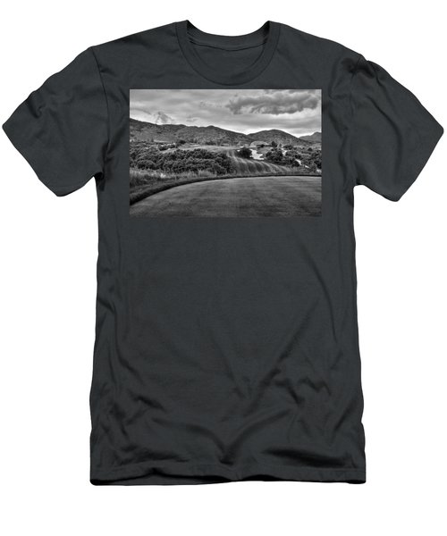 Men's T-Shirt (Slim Fit) featuring the photograph Ravenna Golf Course by Ron White