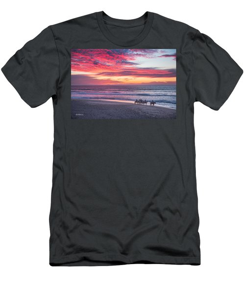Riding In The Sunset Men's T-Shirt (Athletic Fit)