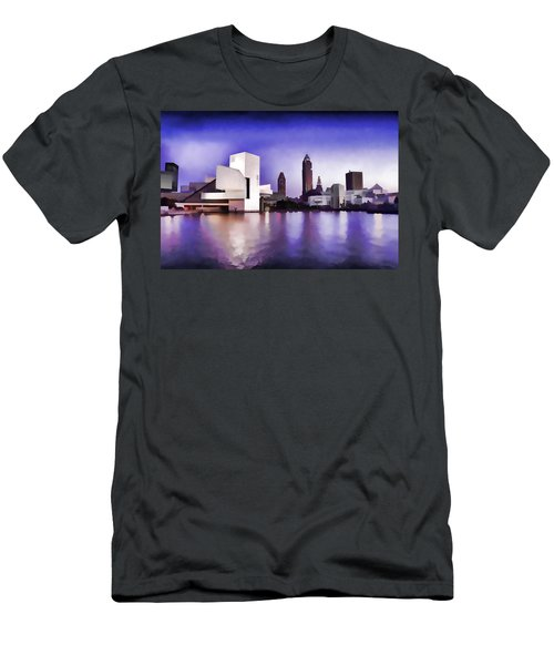 Rock And Roll Hall Of Fame - Cleveland Ohio - 3 Men's T-Shirt (Athletic Fit)