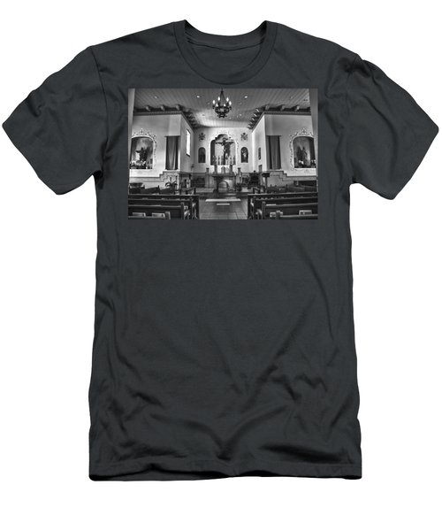 Men's T-Shirt (Slim Fit) featuring the photograph San Carlos Cathedral by Ron White