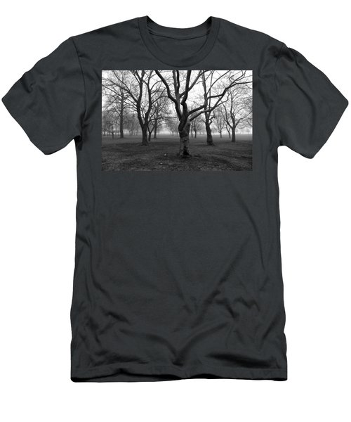 Seaside By The Tree Men's T-Shirt (Athletic Fit)