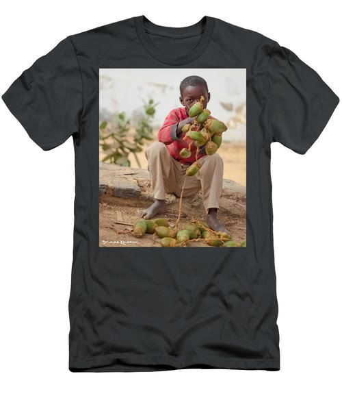 Men's T-Shirt (Athletic Fit) featuring the photograph Somewhere Else On Goree Island  by Stwayne Keubrick